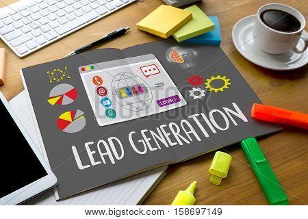 Lead Generation  Lead Generation Business Funnel , Sales Funnel, Marketing Process Lead Generation,
