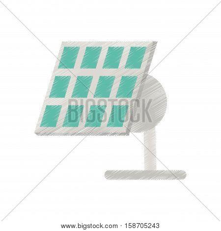 solar panel renewable energy alternative ed vector illustration eps 10