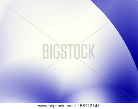 A simple abstract fractal with a blur and a sharply divided corner. Text space. For tech based projects templates layouts leaflets covers web design presentations background for PC or phone.