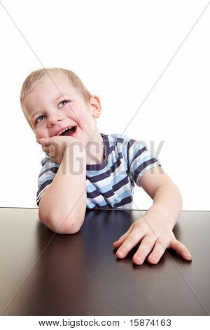 Happy Child Laughing