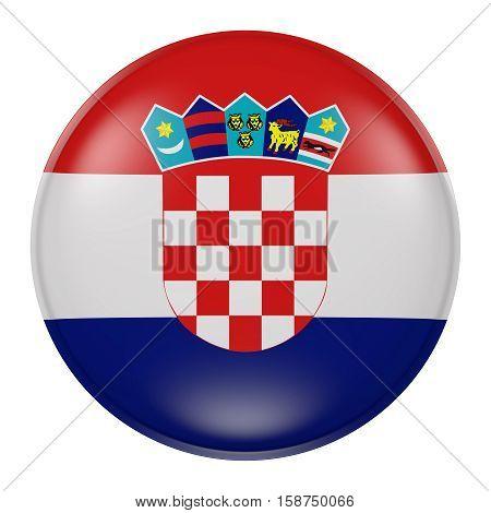 Croatia Button