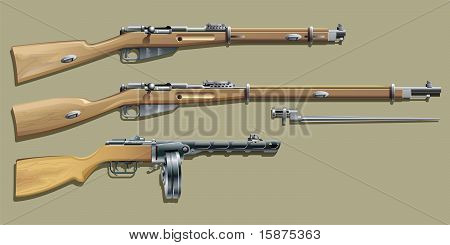 Russian Weapon WW II