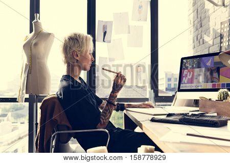 Creative Design Dress Fashion Trend Stylish Concept