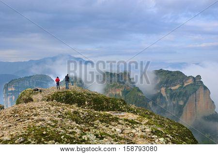 Meteora Landscape, Greece