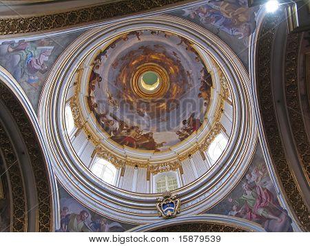 Dome Of Maltese Church