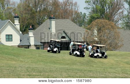 Home On Golf Course