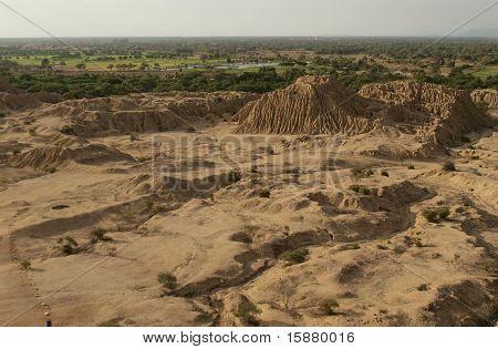 Ancient city ruins in Peru