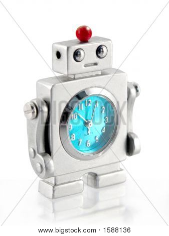Small Robot Clock