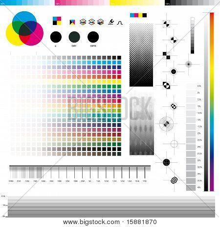Utilitários de impressão CMYK