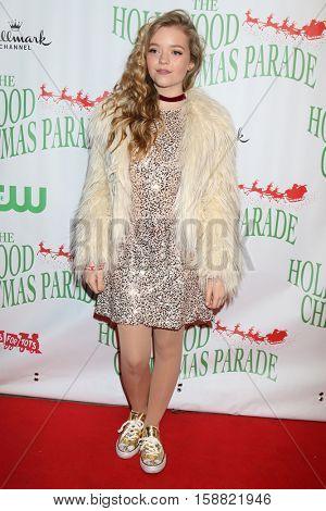 LOS ANGELES - NOV 27:  Jade Pettyjohn at the 85th Annual Hollywood Christmas Parade at Hollywood Boulevard on November 27, 2016 in Los Angeles, CA