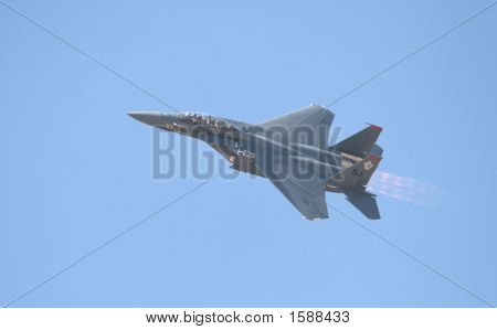F15 Fighter Jet In Flight
