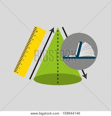online learning geometry education vector illustration eps 10