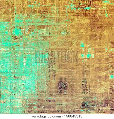 Abstract vintage colored background. With different color patterns: yellow (beige); brown; blue; white; cyan