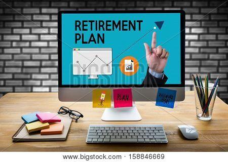Retirement Plan Savings  Senior Investment  Retirement Plan  Pension , Retirement Aspirations And Fi
