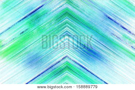 blue green abstract triangle background texture with lines glitches distortion on the screen broadcast digital