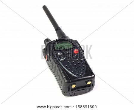 walkie talkie on a white background isolated