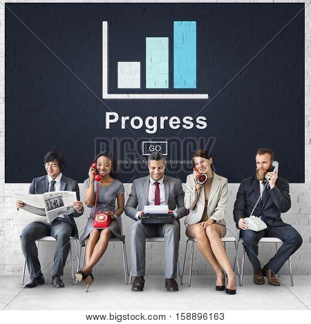Progress Development Growth Improvement Concept