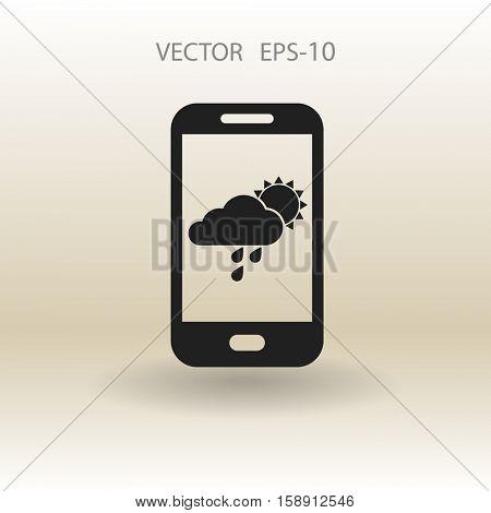 Forecast icon. vector illustration