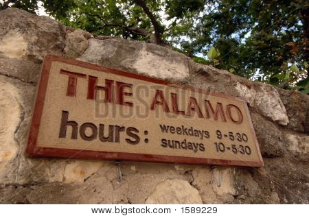 The famous Alamo in San Antonio Texas