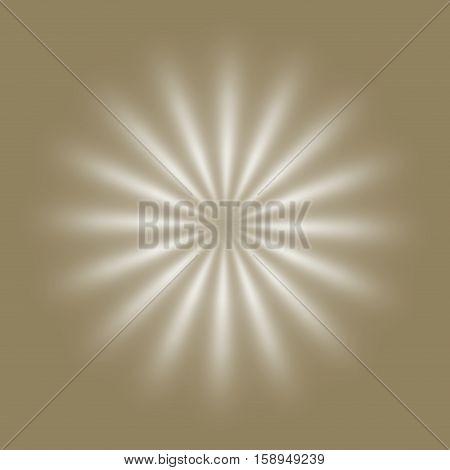 Creamy ivory beige soft rays or flower background
