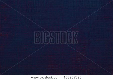 Jeans fabric plain surface background, denim textile texture dark blue background