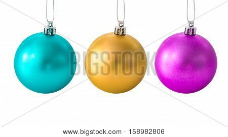Set Of Christmas Balls