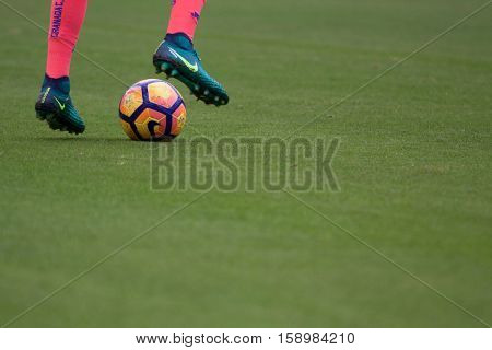 VALENCIA, SPAIN - NOVEMBER 20th: La Liga soccer match between Valencia CF and Granada CF at Mestalla Stadium on November 20, 2016 in Valencia, Spain