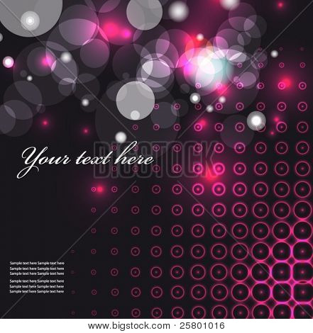 Party background with light. EPS10 vector illustration.