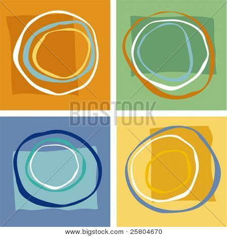 vector abstract geometric shapes