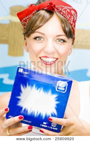 Washing Powder Woman