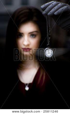 Hypnotised Woman