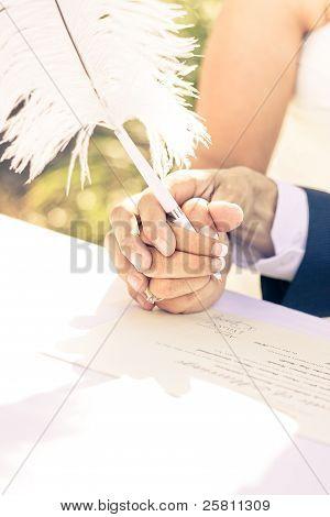 Tender Pledge Of Commitment