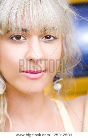 Summer Blond Woman