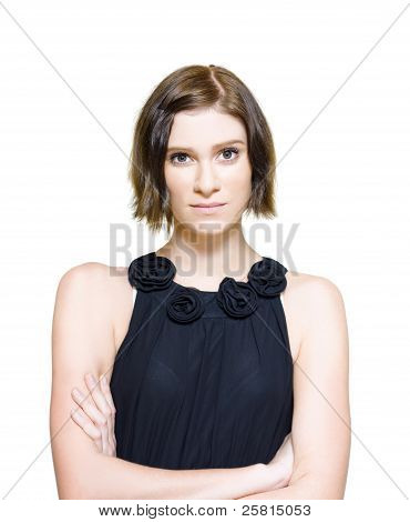 Young Woman Looking Nervous And Anxious