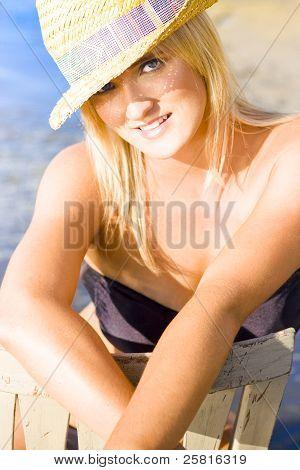 Cute Beach Babe
