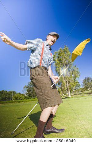 Golf Victory Dance