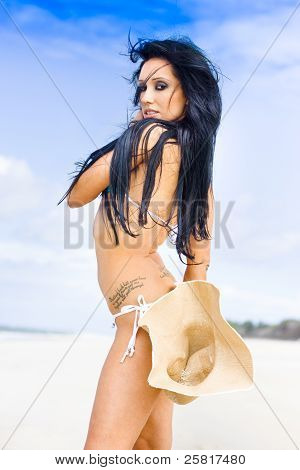 Beach Bikini Woman