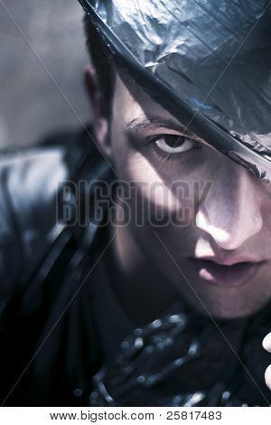 Dark Evil Man