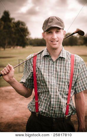 Retro Golfer