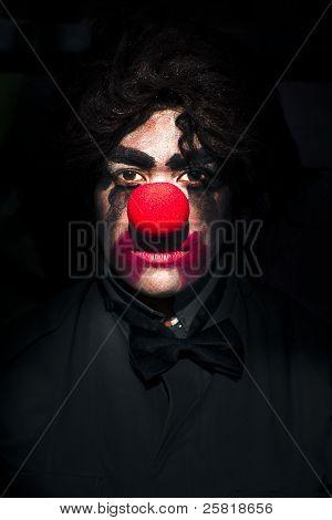 Dark Scary Clown