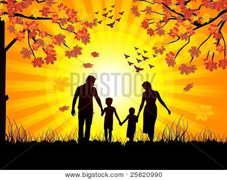 Autumn And Family
