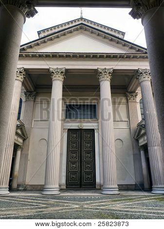 Neoclassical Architecture In Novara