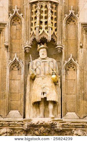 King Henry VIII statue, Cambridge