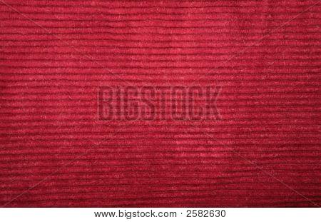Red Velveteen Texture