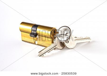 Cylinder With Keys