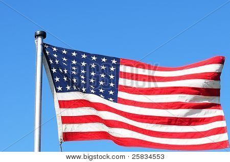 48 Star Version of US Flag