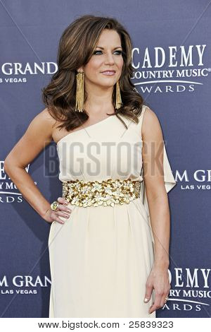 LAS VEGAS - APRIL 3 - Martina McBride attends the 46th Annual Academy of Country Music Awards in Las Vegas, Nevada on April 3, 2011.