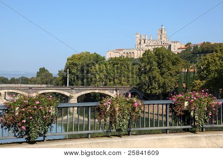 Cathedral Of Beziers, France