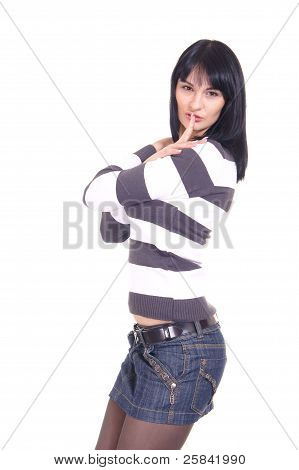 Nice Girl Posing