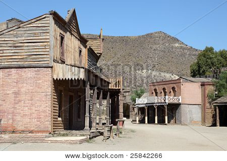 Abandoned American Western Town